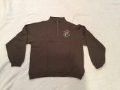 1/4 Zip Sweatshirt - Heather Gray