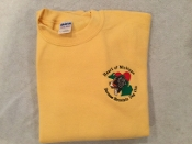 CLUB LOGO SWEATSHIRT - YELLOW