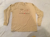 Put Your Heart Into - Long Sleeve T-Shirt - Tan