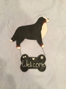 Wooden Bernese Welcome Sign