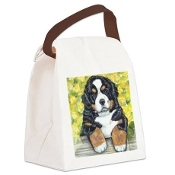 Canvas Lunch Bag/Tote - Berner Baby