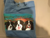 3 Berner Sweatshirt - Blue