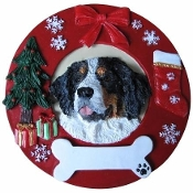 Hand Painted Ornament - BERNESE