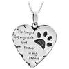 Forever In My Heart Necklace - Black